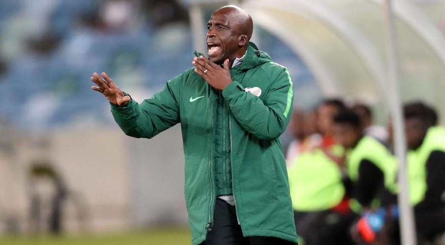 David Notoane, le sélectionneur de l'Afrique du Sud.