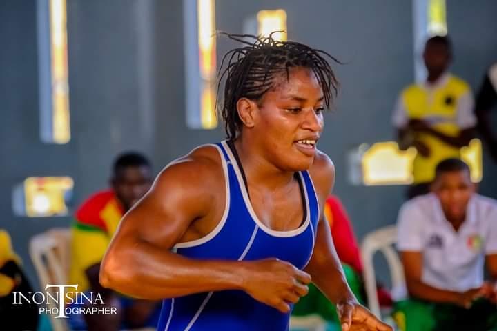 La lutteuse guinéenne Fatoumata Yarie Camara sera à Tokyo pour les JO 2020.