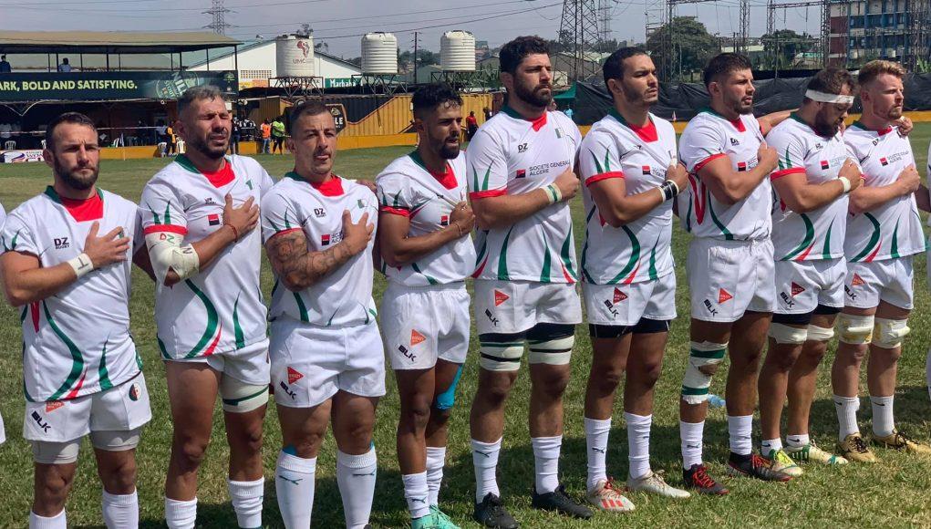 L'Algérie bat l'Ouganda et file en quart de finale  de Rugby Africa Cup 2022