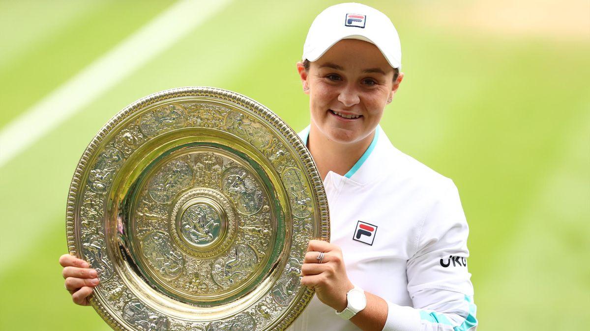 L'Australienne Ashleigh Barty remporte la finale de Wimbledon 2021