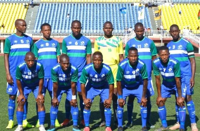 La sélection du Lesotho.
