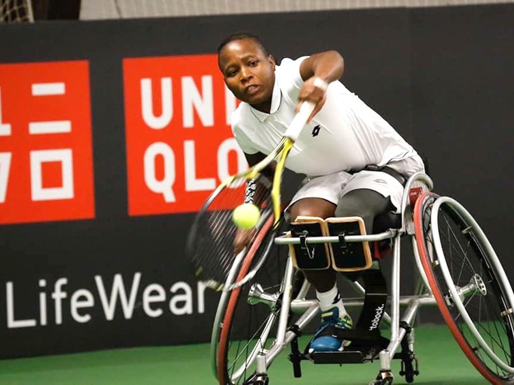La Sud-Africaine Kgothatso Montjane  s'est qualifiée pour sa première finale historique  à Wimbledon