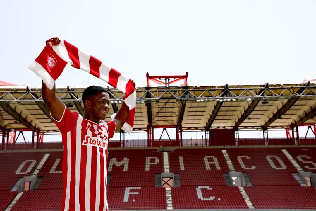 Le Guinéen Aguibou Camara rejoint le l'Olympiakos FC  pour 4 ans