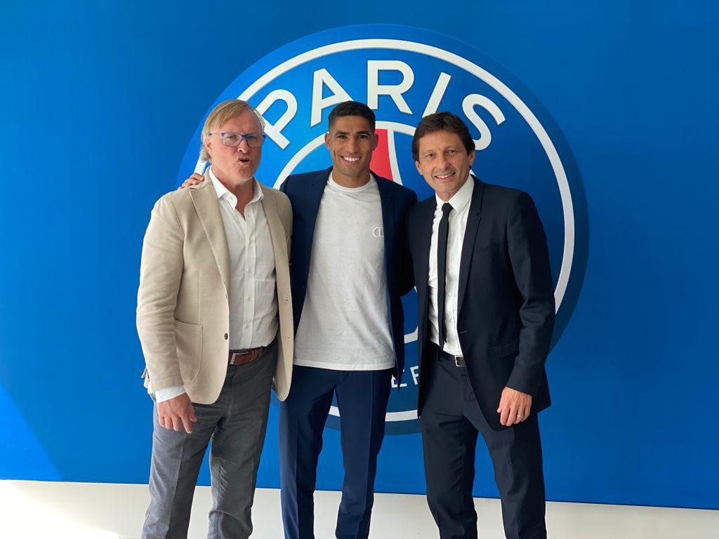 Le Marocain Achraf Hakimi signe pour 5 ans au Paris Saint-Germain