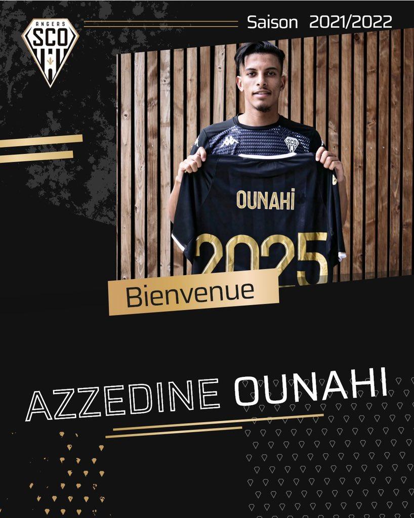 Le Marocain Azzedine Ounahi, s'engage avec Angers SCO pour 4 ans