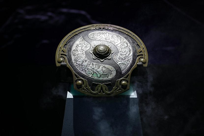 Le trophée de The International Dota 2