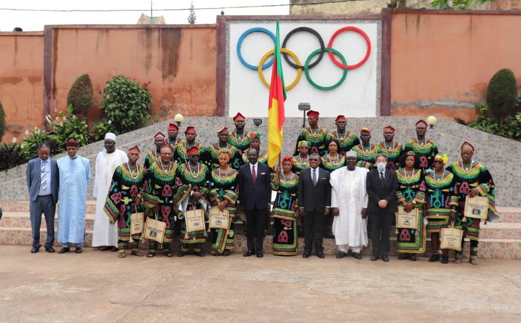 Les athlètes camerounais parés pour les JO