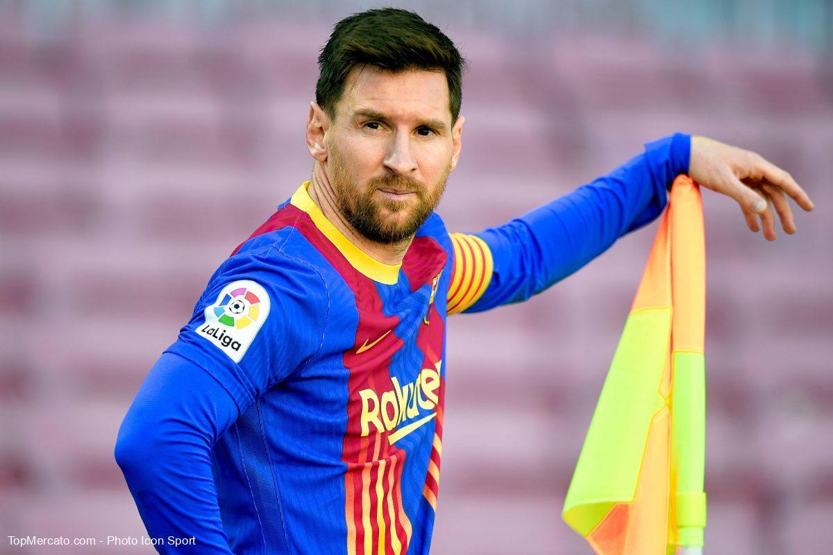 Lionel Messi est parti pour rester cinq ans de plus au FC Barcelone.