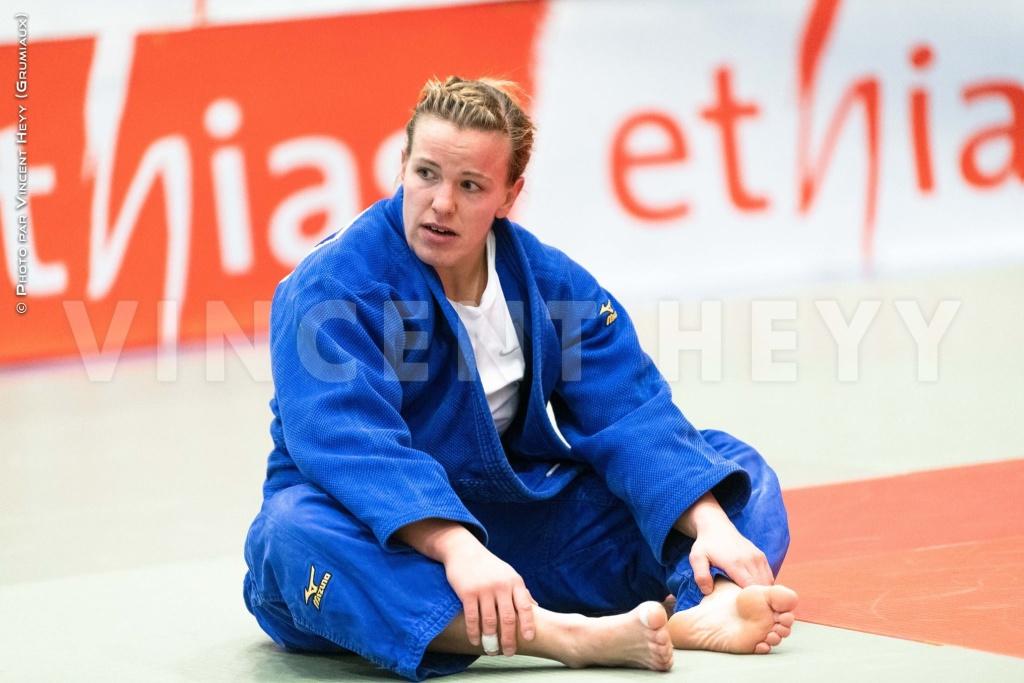 Marie Branser judokate de la RD Congo-JO 2020