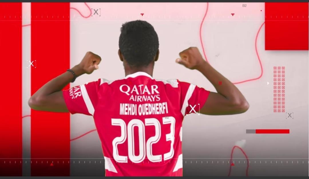 Mehdi Oudherfi prolonge jusqu'en 2023.