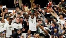 Milwauke Bucks champion NBA