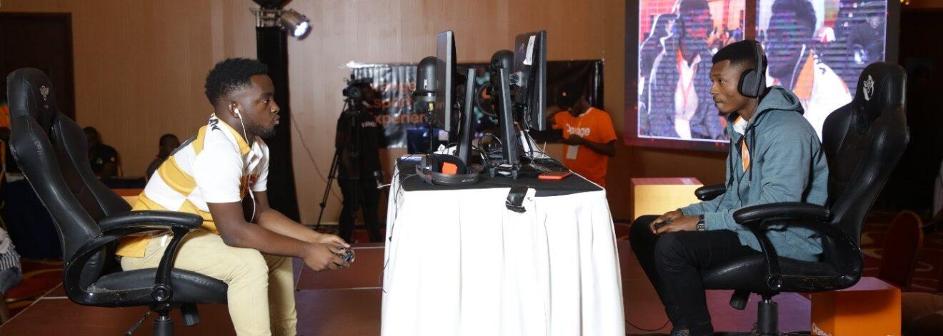 l'Orange eSport Expérience à Abidjan le 4 juillet 2021