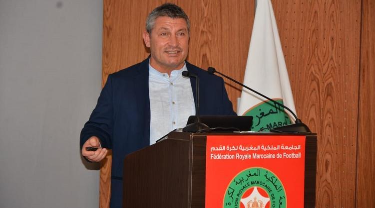 Osian Roberts, désormais ex-DTN du football marocain.