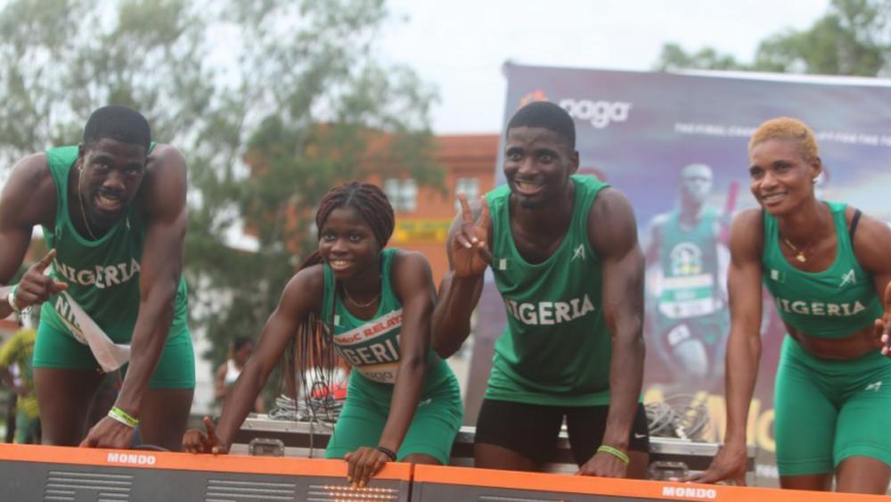 Relais mixte 4X400 du Nigeria