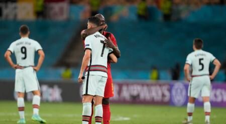 Romelu Lukaku console Ronaldo