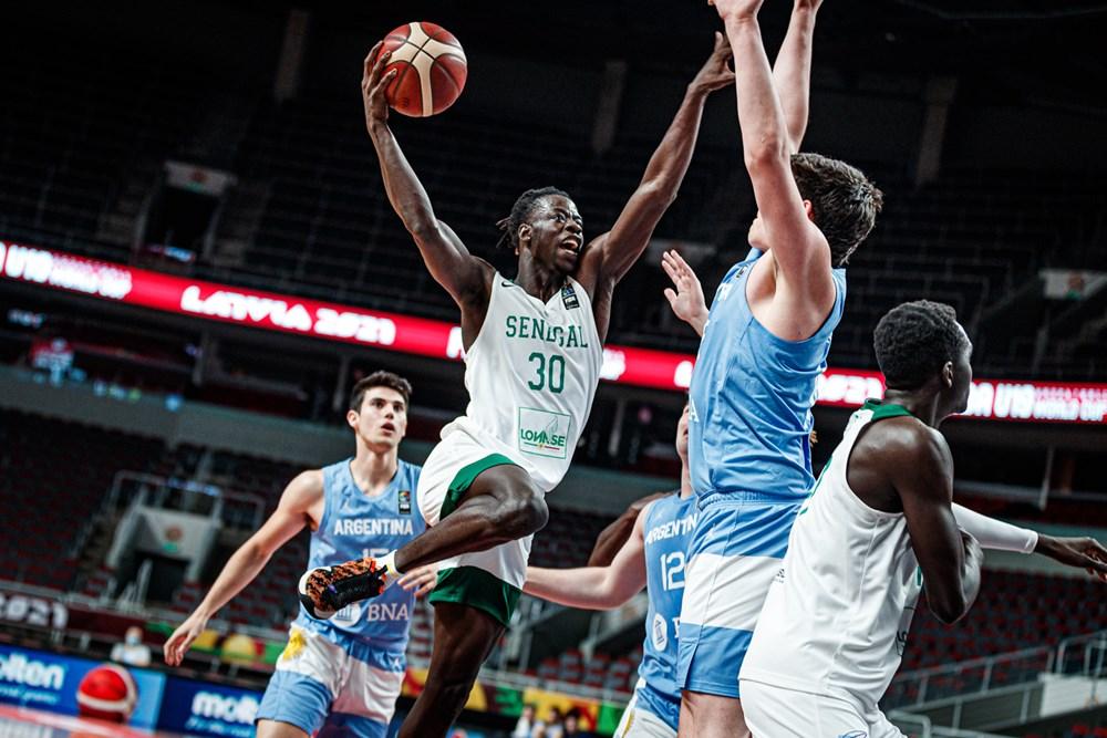 Sénégal U19 basket