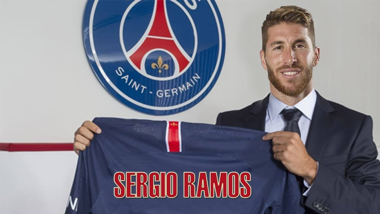 Sergio Ramos, nouvelle recrue du PSG.