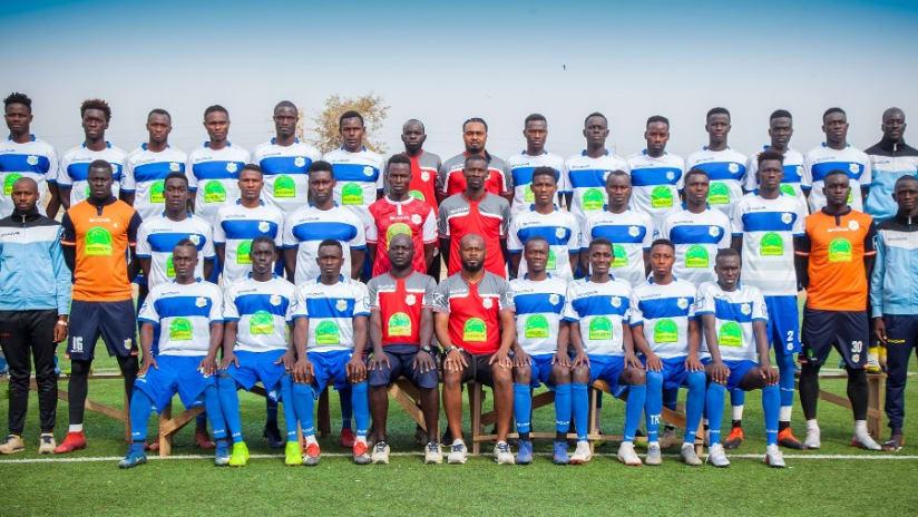 Teungueth FC, champion du Sénégal 2020-2021.