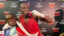 Takyi Samuel-boxeur africain-JO Tokyo