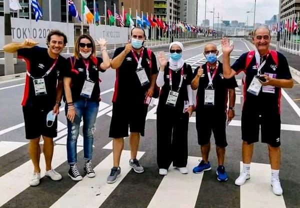 Les membres de la délégation tunisienne déjà à Tokyo pour les JO.