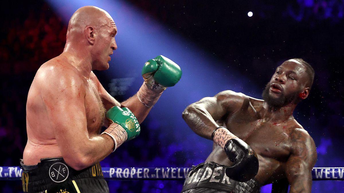 Tyson Fury a été testé positif au Covid-19, entraînant le report de la revanche contre l'Américain Deontay
