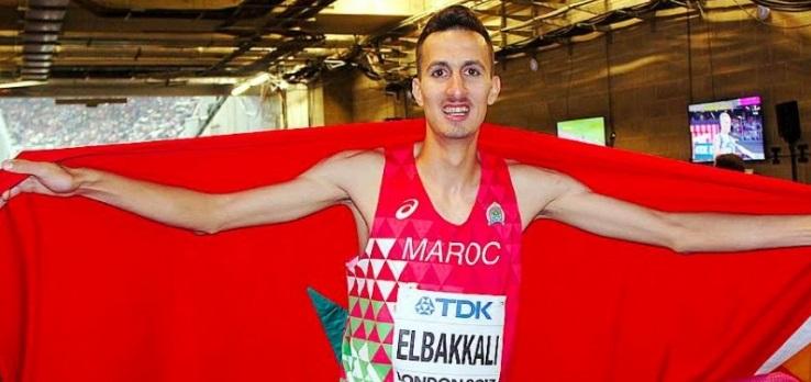 Soufiane El Bakkali, spécialiste du 3.000 m steeple, est l'un des espoirs de médaille du Maroc.