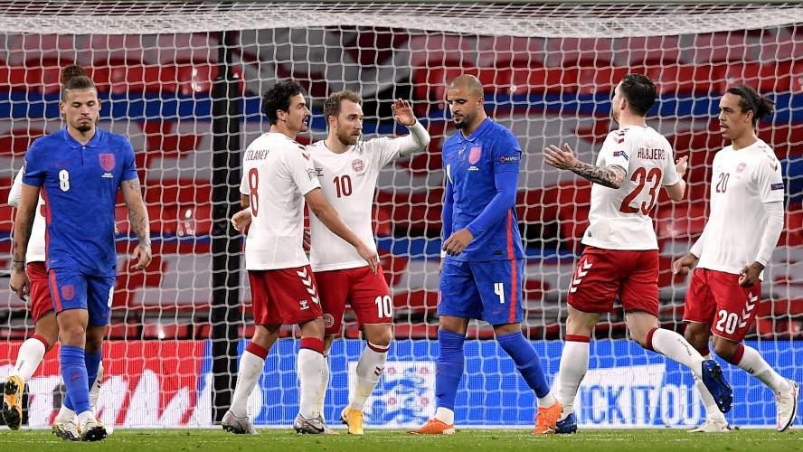 Le Danemark surprend (1-0) l'Angleterre en Ligue des nations. C'était en octobre 2020. Les deux équipes se retrouvent ce mercredi 7 juillet en demi-finale de l'Euro 2020.