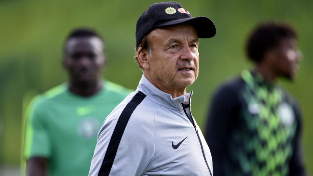 Gernot Rohr, sélectionneur du Nigeria.