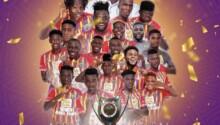 Hearts of Oak emerge Champions of Ghana Premier League