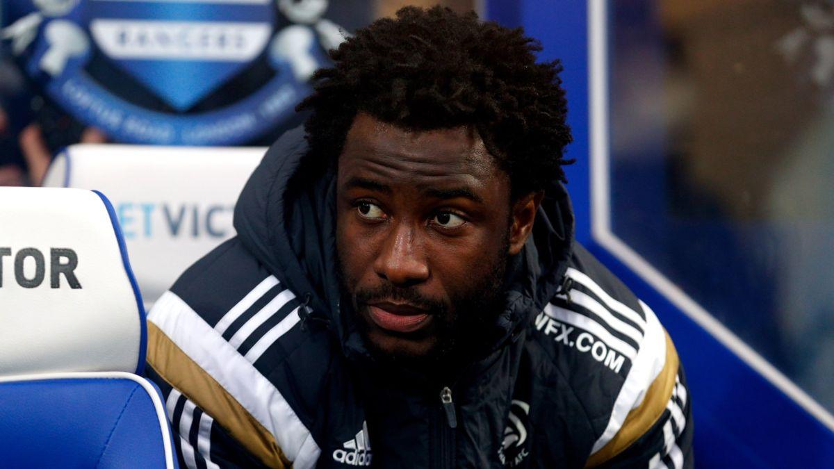 L'attaquant ivoirien Wilfried Bony.
