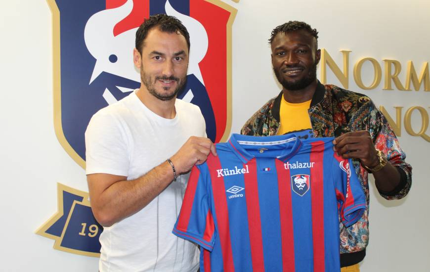 Franklin Wadja signe à Caen