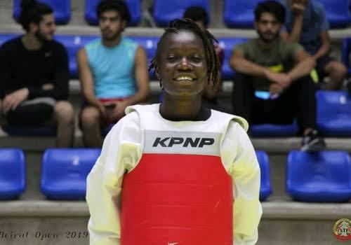 Naomie Kasumpata.