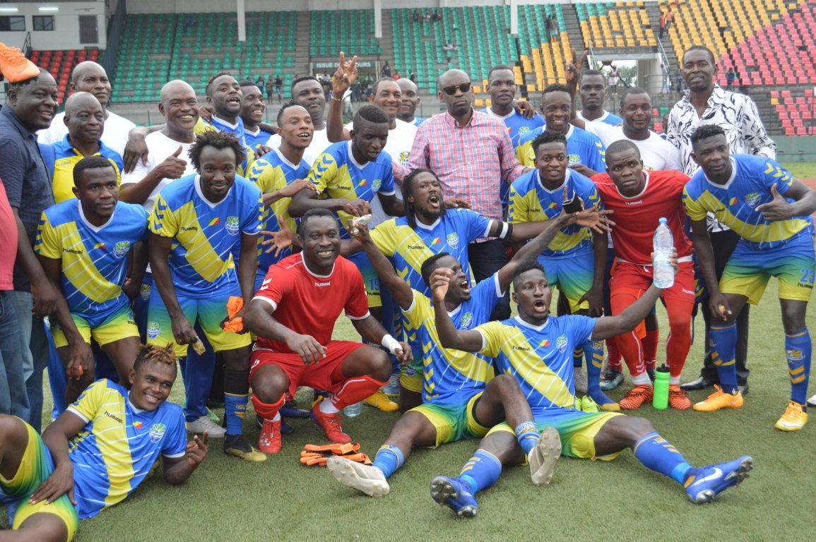 L'AS Otoho, championne du Congo 2020-2021.