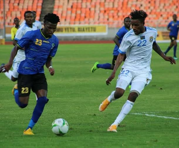 Les U23 de la RDC (en blanc) ne verront pas les demi-finales de la Coupe CECAFA.