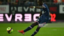Idrissa Gana Gueye célèbre son joli but face à Brest