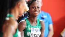 Favour Ofili, finaliste du 200 m dames