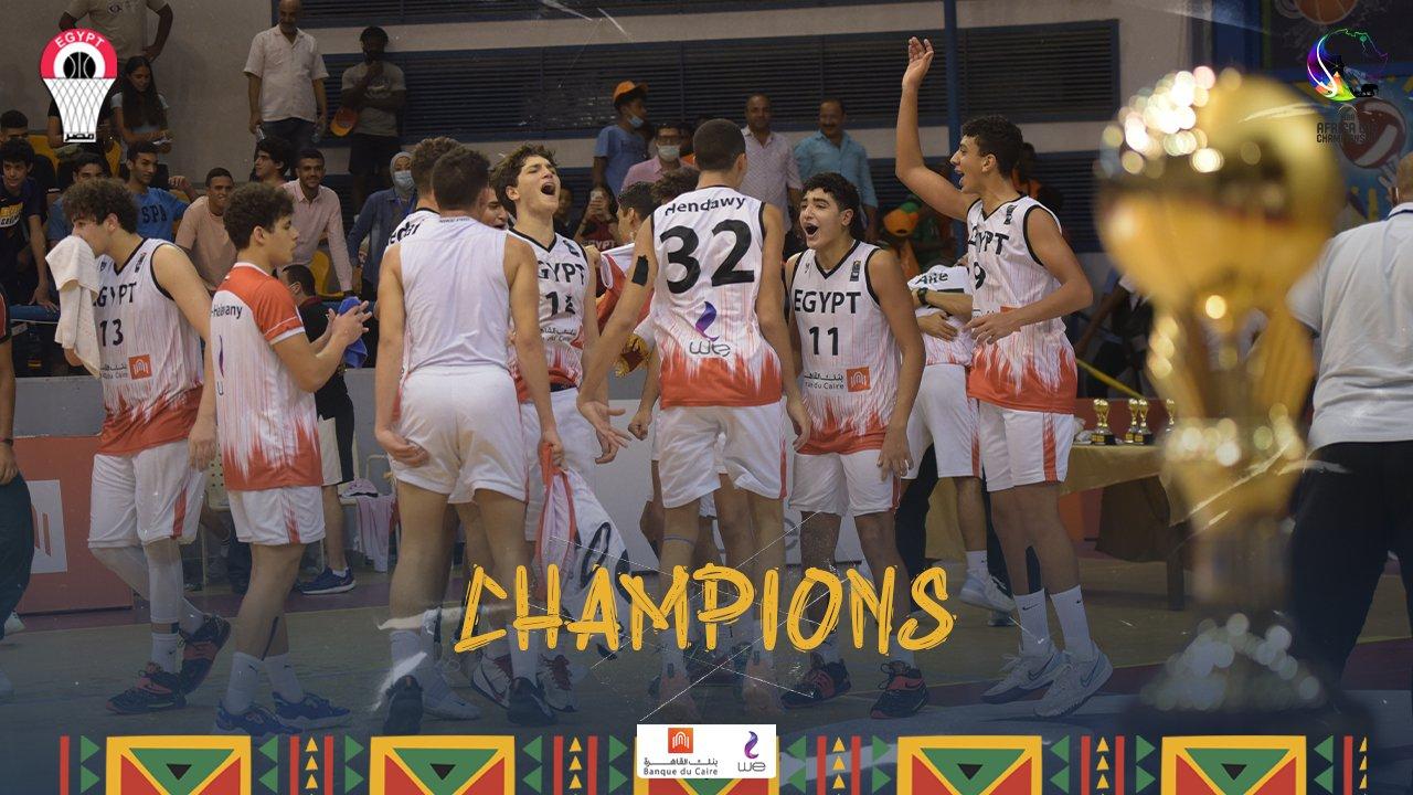 Egypte-Afrobasket U16