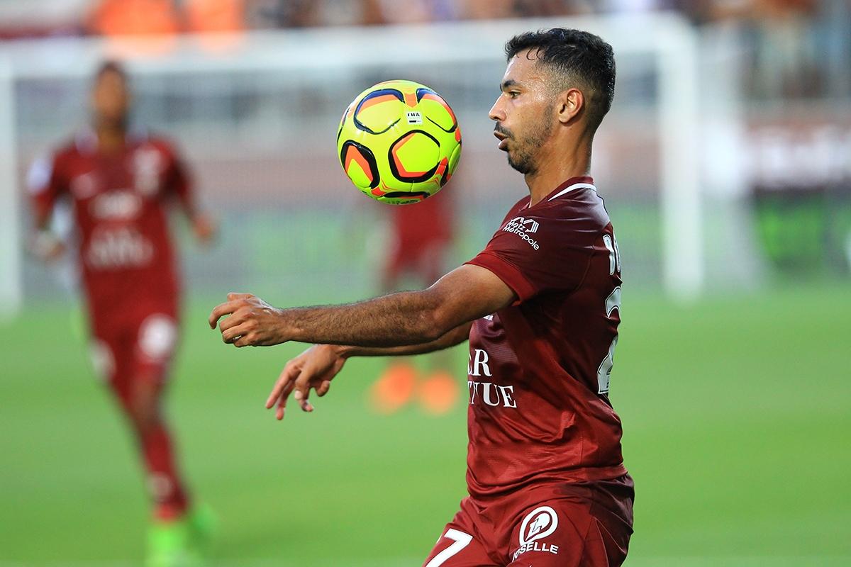 Farid Boulaya le dépositaire du jeu messin en Ligue 1