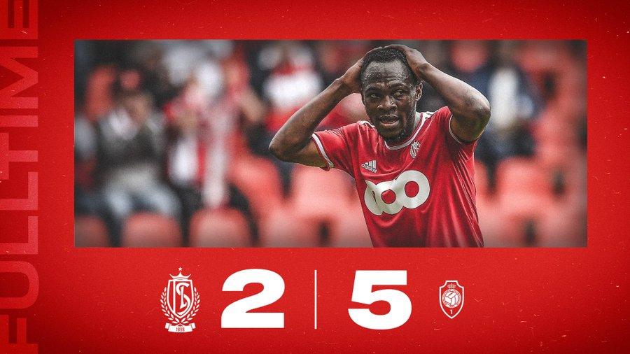 Jackson Muleka Standard de Liège