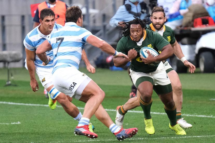 Joseph Dweba a fait ses débuts avec l'Afrique du Sud