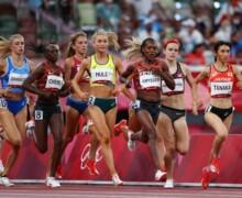 Demi-finale 1500m dames JO Tokyo