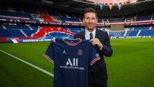 Lionel Messi au PSG