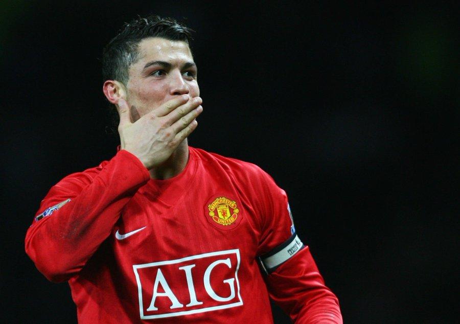 Cristiano Ronaldo à Manchester United