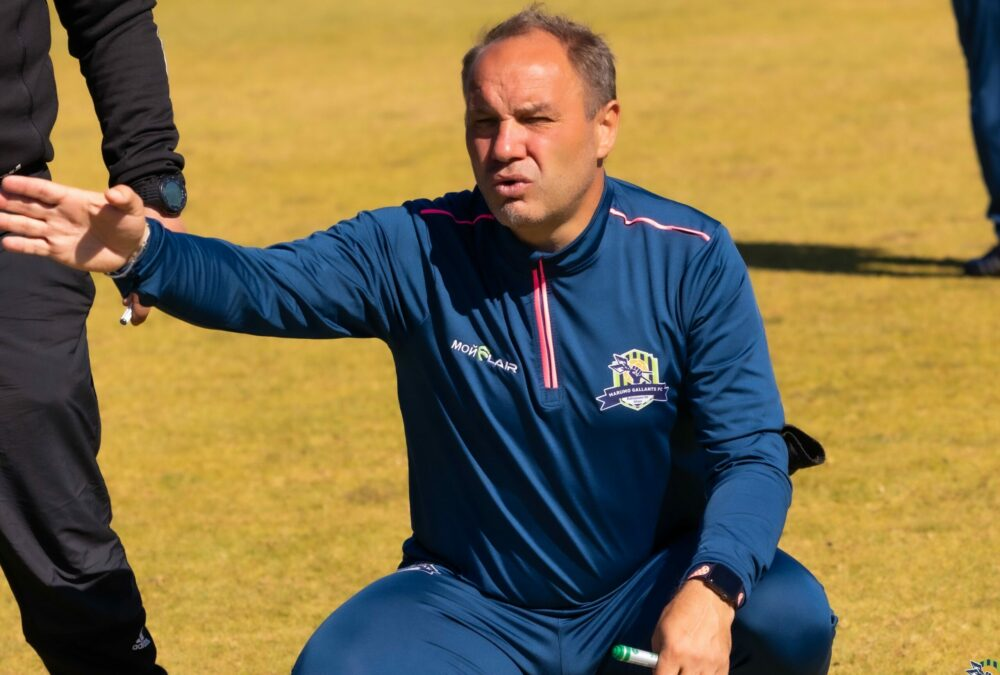 Sébastien Migné coach Maruma Gallants FC
