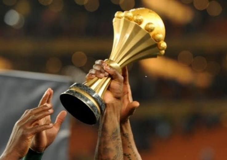 Le trophée de la CAN.