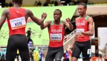 trois pays d'Afrique en finale du relais 4X100 m