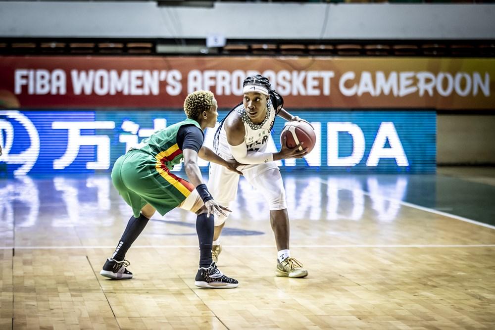 Bintou Diémé Afrobasket Sénégal