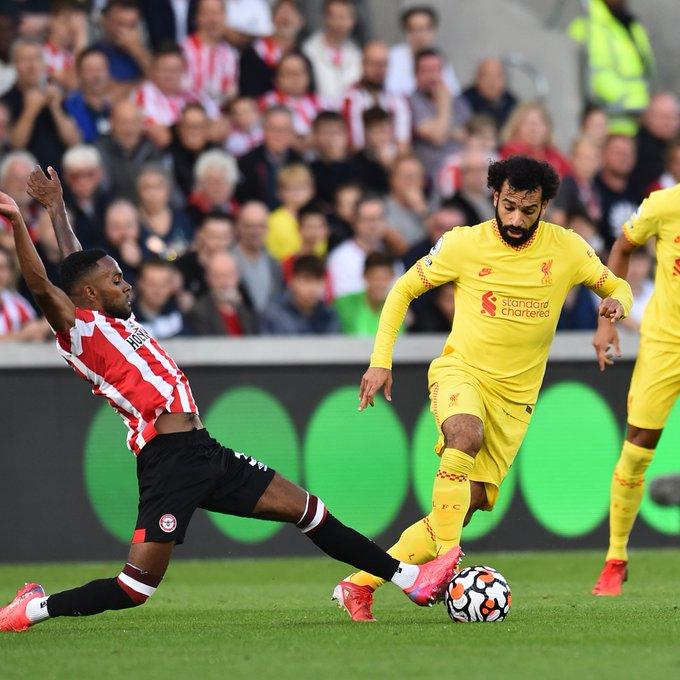 Salah marque son 100e but avec Liverpool