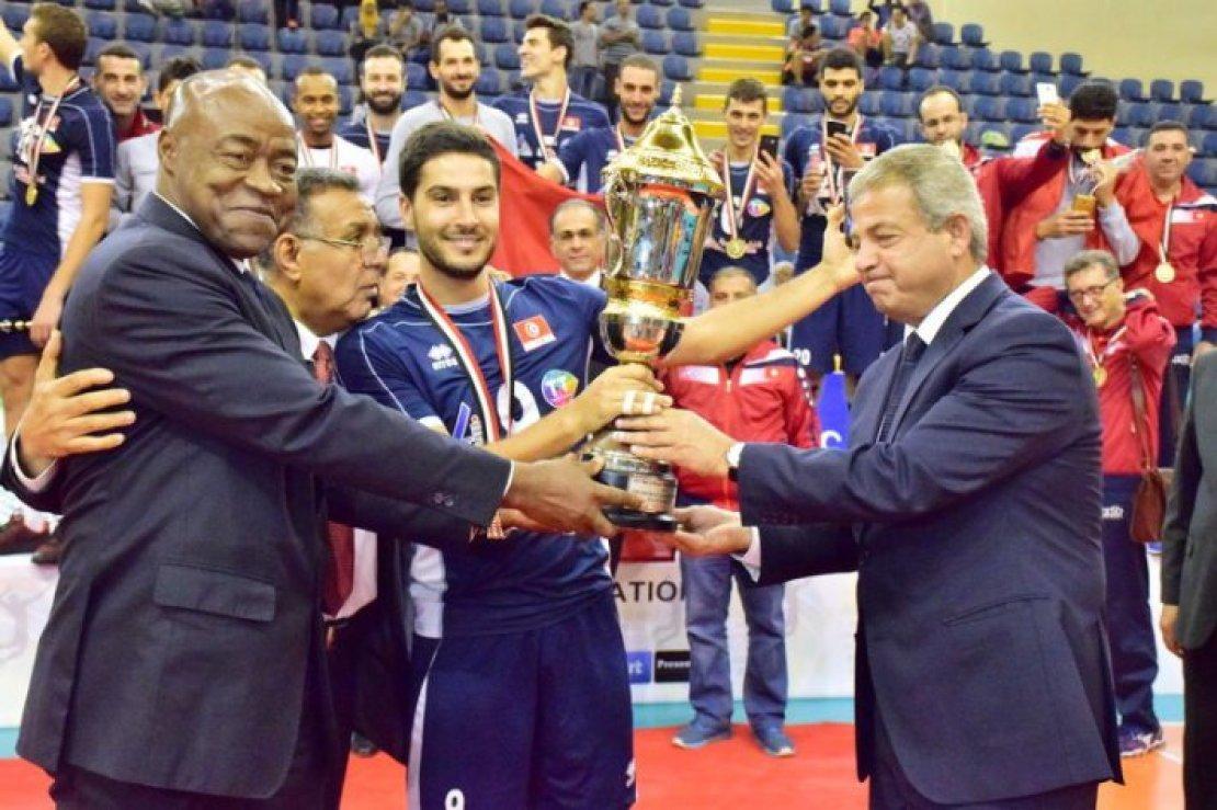 La Tunisie triple championne d'affilée  de volleyball