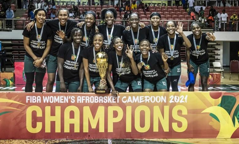 Les D'Tigress du Nigeria.